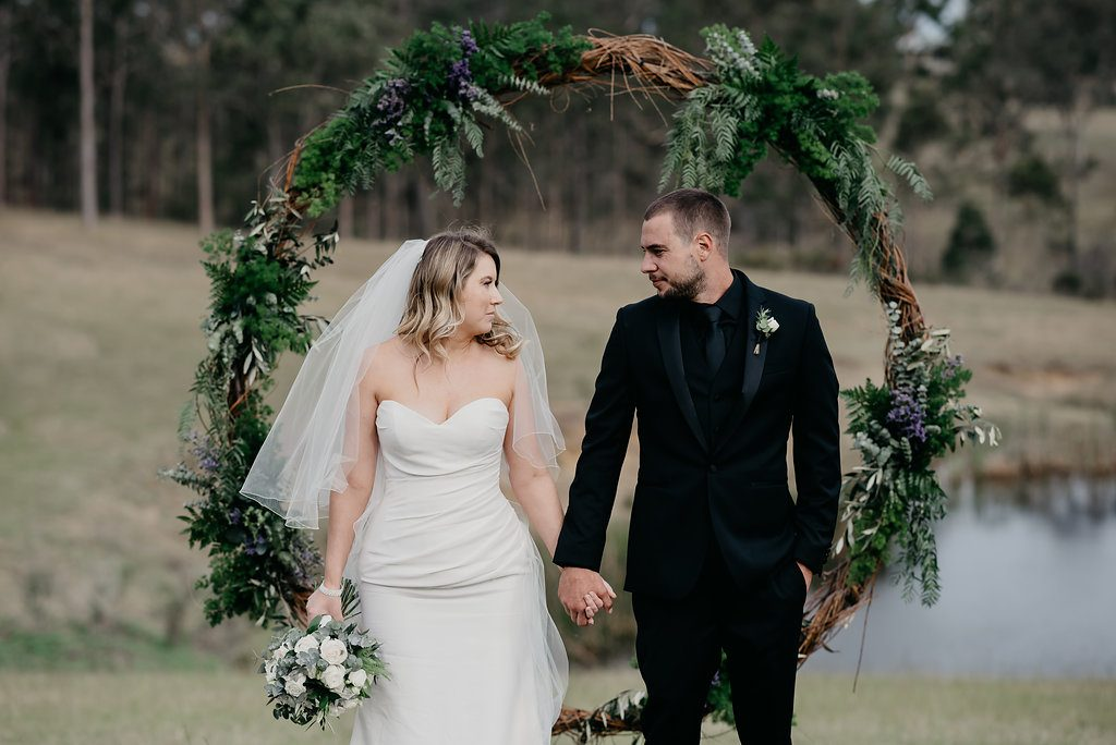 wedding ceremony flowers hunter valley newcastle willa floral design