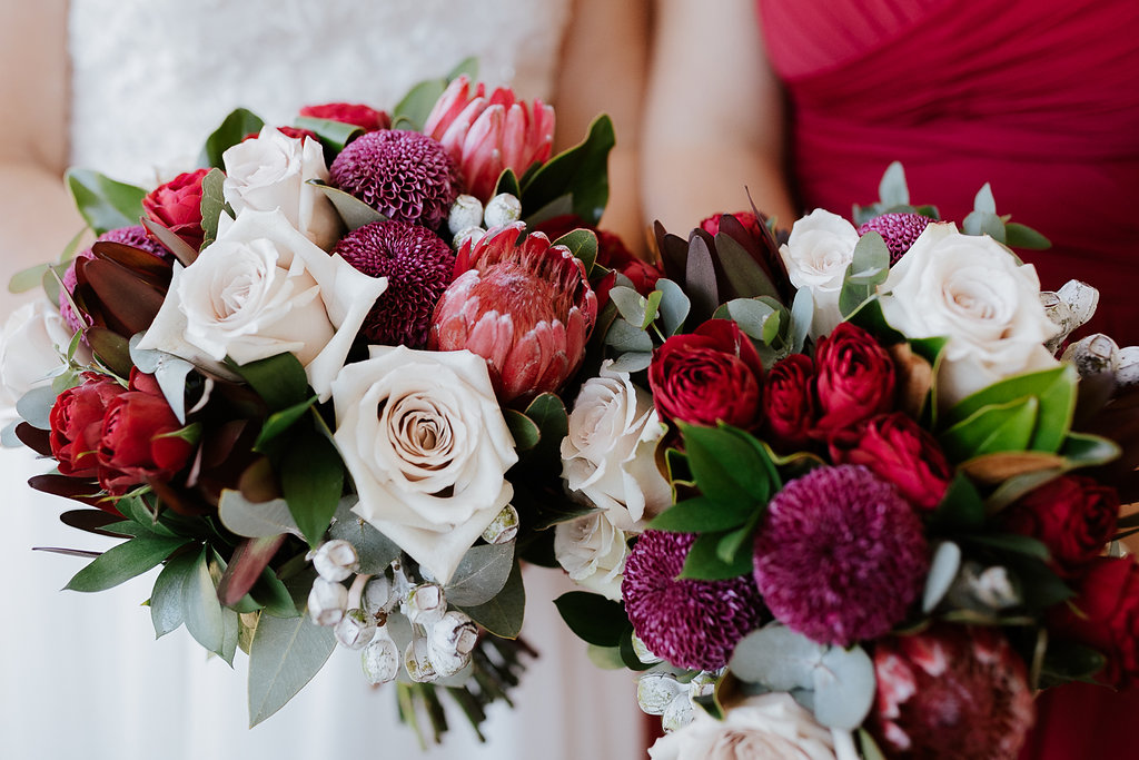 wedding flowers hunter valley enzo wedding ironbark hill willa floral design gezxavier mansfield photography