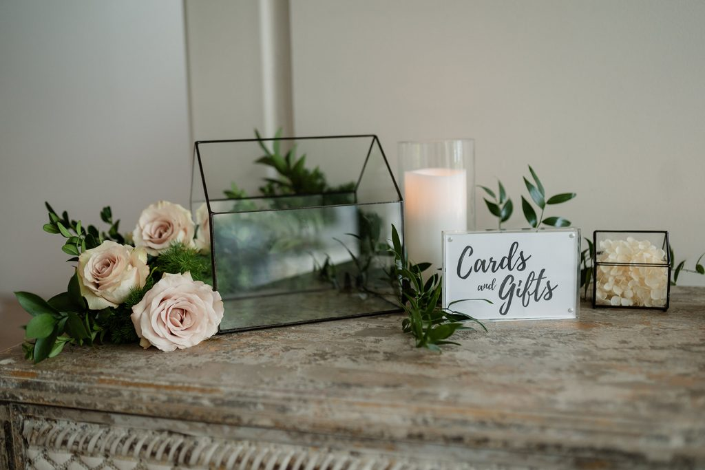 wedding wishing well hire styling
