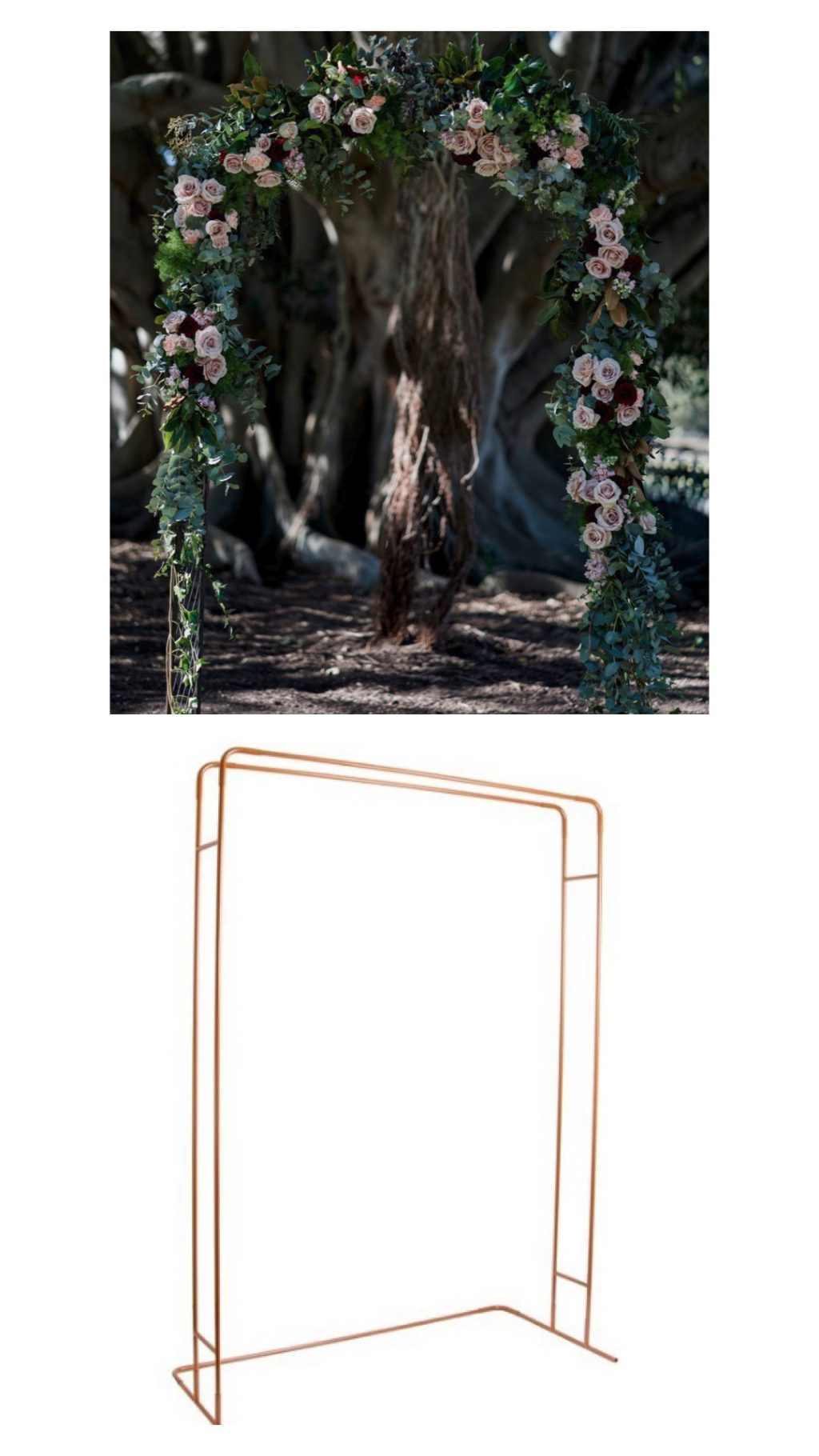 hunter valley wedding styling hire arches