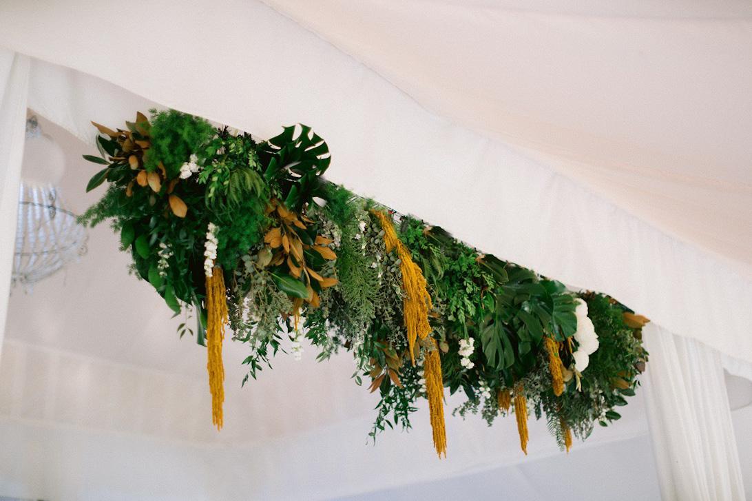 reception hanging arrangement