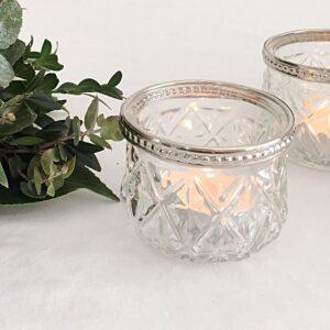 styling decor glass votive candles