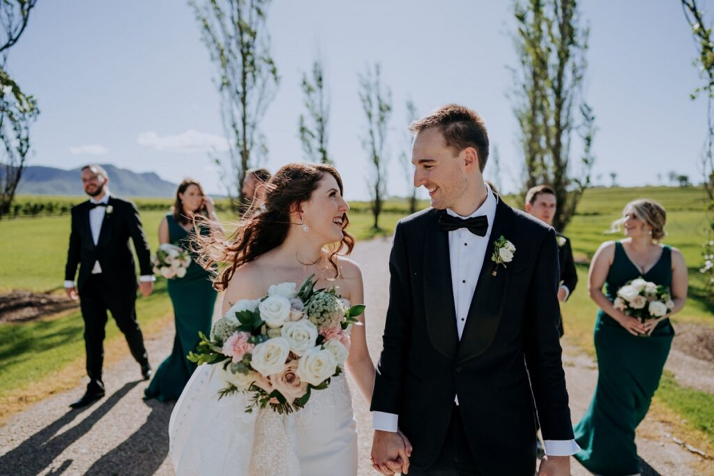 wedding flowers enzo hunter valley