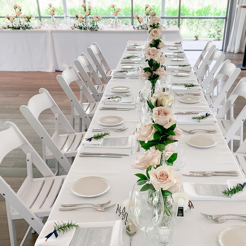 Spicers Guesthouse wedding reception